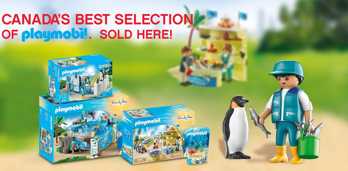 One of Canada's Best Selections of Playmobil Sold Here