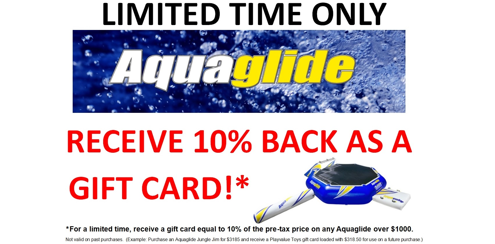 One of Canada's Best Selections of Aquaglide Sold Here