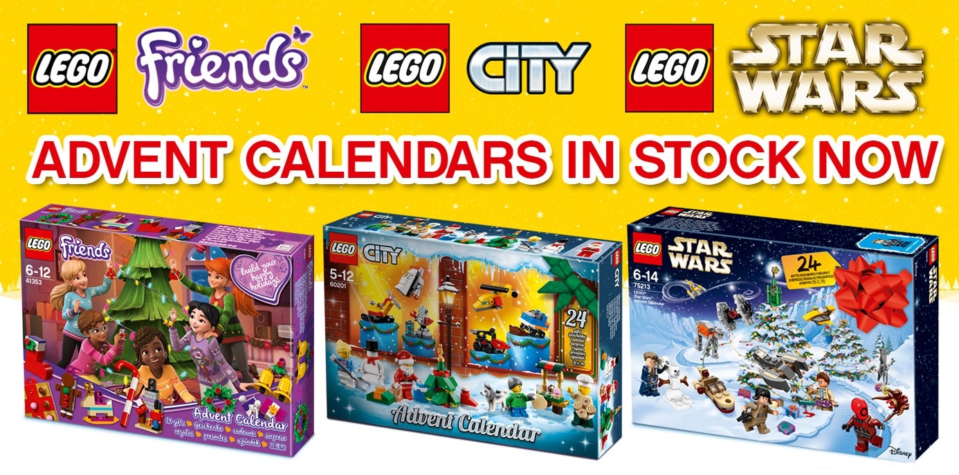 LEGO Advent Calendars in Stock
