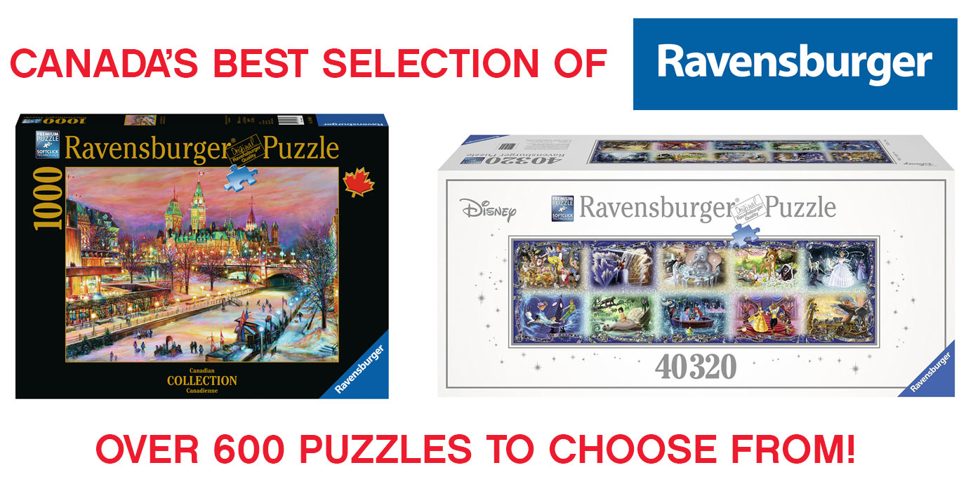 Canada's Best Selections of Ravensburger Sold Here
