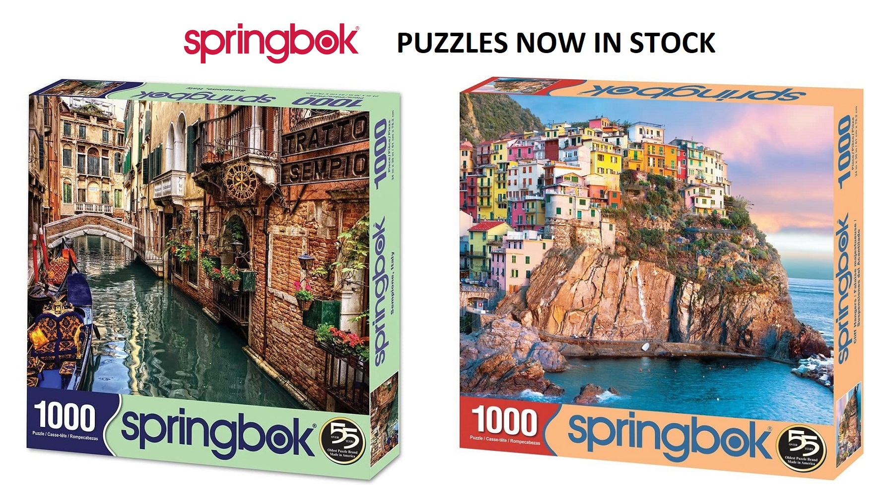 Springbok Puzzles Sold Here